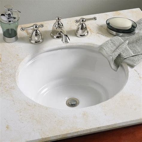American Standard Undermount Bathroom Sink by American Standard Tudor 0632000 Undermount Bathroom Sink