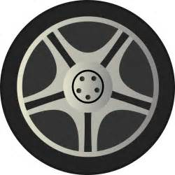 View Wheels And Tires On Truck Clipart Simple Car Wheel Tire Rims Side View