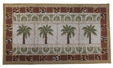 kitchen accent rugs palm tree grid kitchen rug tropical decor accent rug