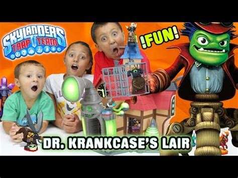Kaos 3d Moon dr krankcase s lair unboxing w special effects skylanders trap team funplay