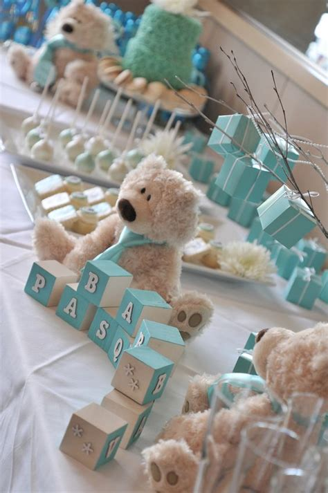 cute themes for boy baby showers picture of cute baby shower sweets tabl decor ideas 8