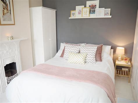 gray and pink bedroom pink grey bedroom makeover bang on style