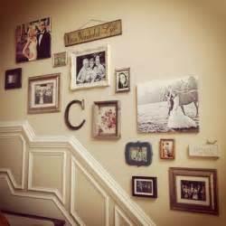 Wall Decor Ideas by 50 Creative Staircase Wall Decorating Ideas Art Frames