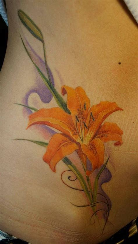 orange lily tattoo designs orange asiatic look at all the pretty