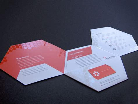 How To Make A Paper Brochure - alaris brochure on behance