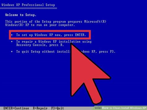 xp configure home page how to clean install windows xp 11 steps with pictures