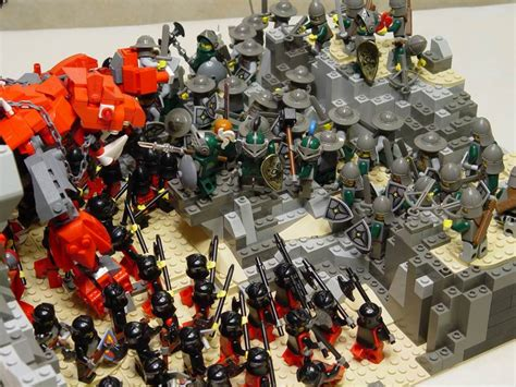 Lego Knights War classic castle view topic last stand of the