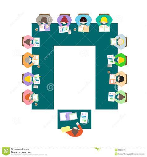 u shape meeting room setup u shape meeting room setup stock vector image 55056078