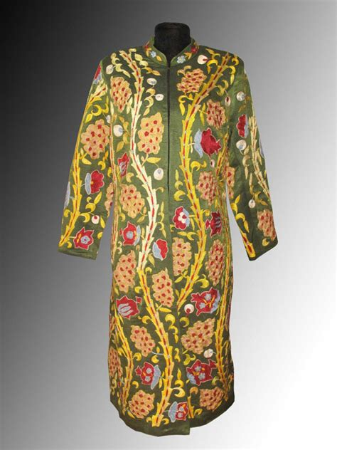 uzbek traditional clothing uzbekistan clothes tyubiteika sale uzbek national traditional clothes silk by sunsilkflowers