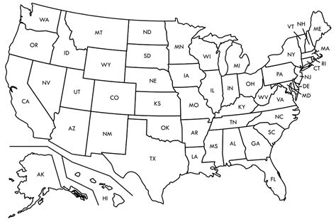 blank us map including alaska and hawaii file blank us map borders labels svg wikimedia commons