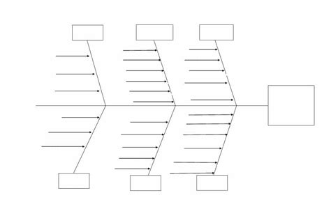 43 Great Fishbone Diagram Templates Exles Word Excel Fish Diagram Template
