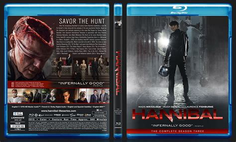 Hannibal The Complete Series Bluray hannibal 2013 season 3 bluray cover by cem3203 on deviantart