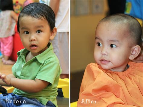 baby boy haircuts before and after home sweet moments