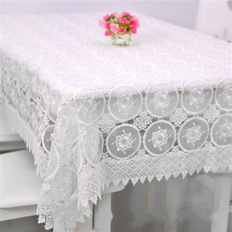 Lace Table Cloth 130180 Taplak Meja Shabby Chic popular crochet tablecloth buy cheap crochet tablecloth