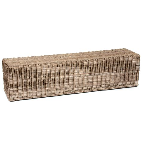 wicker benches furniture furniture enhance your home with a tasteful rattan bench furniture design