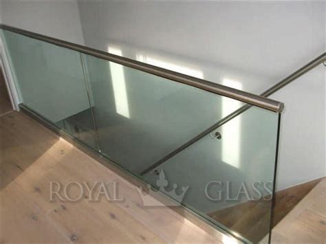 Glass Banisters Cost Balustrady Szklane Royal Glass