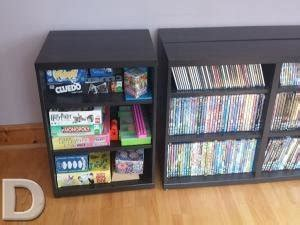 besta dvd storage ikea besta cd dvd storage systems for sale in carrigaline cork from cleartheclutter