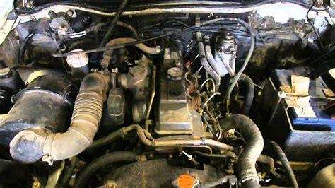wrecking  mitsubishi triton   wd  turbo