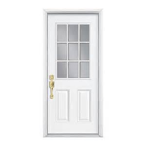 Hung Exterior Doors Pre Hung Steel Door Rona