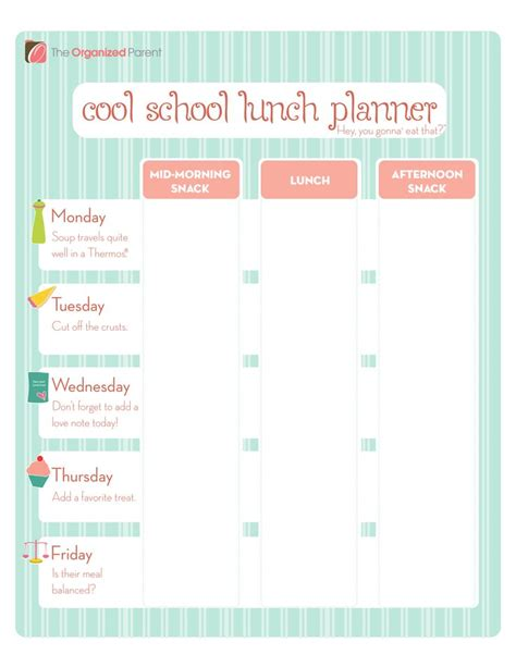 School Lunch Calendar Template by 203 Best Lunch Ideas For Images On