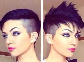 Galerry pompadour haircut ladies