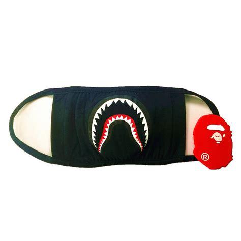 Bape A Bathing Ape Mask a bathing ape bape aape mask bape black shark muffle ebay