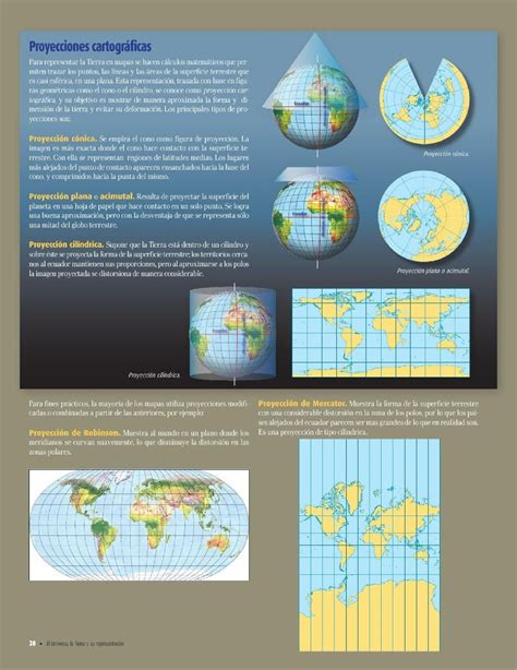 atlas geografia del mundo 5to grado 2015 2016 librossep by representaciones de la tierra cap 237 tulo 1 lecci 243 n 3