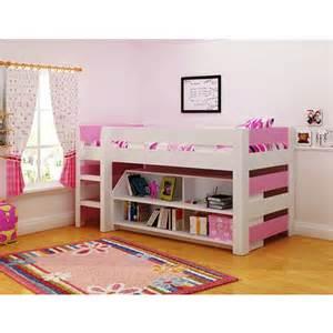 lollipop mid sleeper bed frame childrens cabin bed