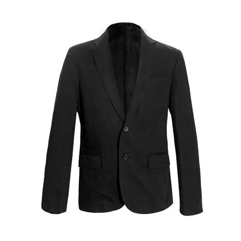 Blezer Black mens black blazer fashion ql