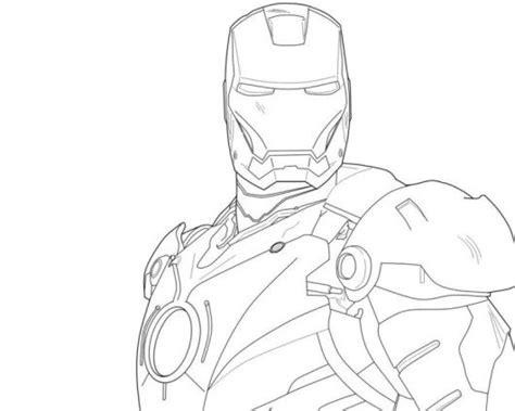 easy iron man coloring page easy iron man 3 coloring pages for kids avengers