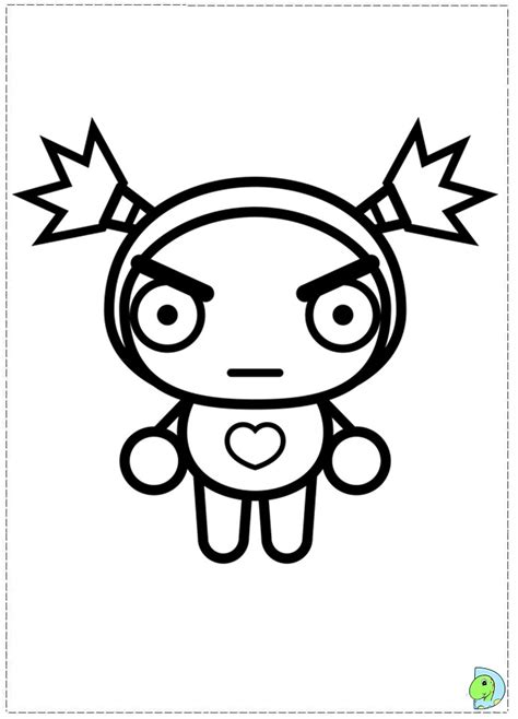 free coloring pages of pucca
