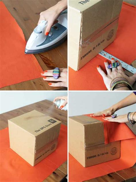 diy storage box ideas diy upholstered storage boxes recycle crafts