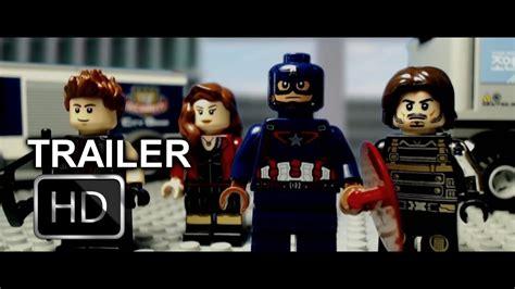 Lego Kw Captain America Civil War Costume Minifigure captain america civil war trailer in lego