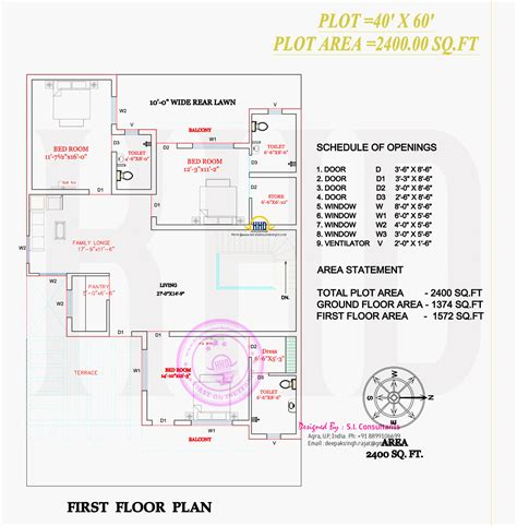 2400 square feet house plans modern indian house in 2400 square feet home kerala plans