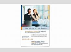 Financial Planning & Consulting Flyer Template Design Holiday Gift Guide Microsoft