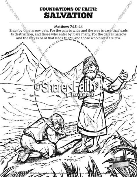 Matthew 7 Coloring Pages by 39 Plan Of Salvation Coloring Page Plan Of Salvation