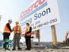 Uhv Mba Cost by Officials Celebrate Costco Construction In Oshawa
