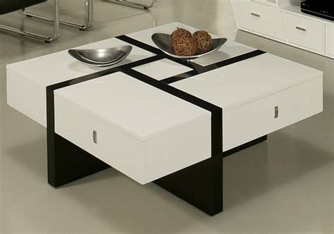 7 Black And White Coffee Tables For A Modern Living Room Coffee Table Black And White