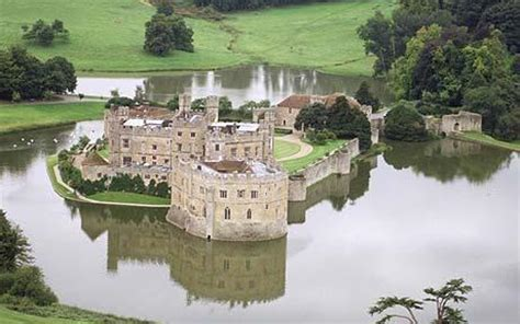 The Cottages Of Norman by Visit Leeds Castle In The Uk