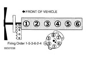 4 6 Ford Firing Order Ford F150 4 2 Liter Six Cylinder Firing Order Spark