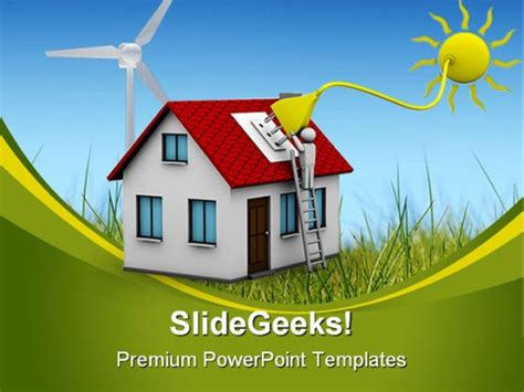 Solar Energy Science Powerpoint Template 0910 Solar Energy Ppt Template Free