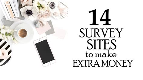 Survey Sites To Make Money - 14 survey sites to make extra money in 2017 passive income wise