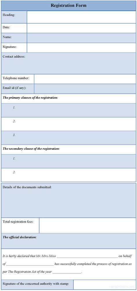 printable registration form template geocvc co