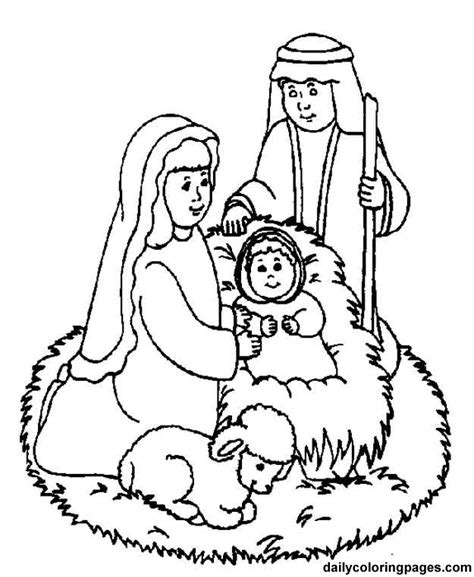 nativity coloring pages with scripture nativity characters free printouts nativity scene bible