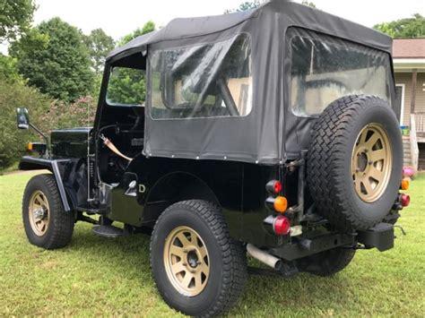 jdm jeep 1991 mitsubishi jeep willis j53 jdm rhd turbo diesel right