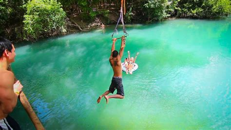rope swinging epic texas rope swings flips youtube