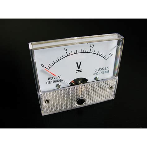 Voltmeter Dc Analog analogue voltmeter dc 0 15 volts mr positive nz