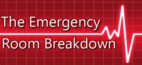 Emergency Room Insurance by How Much Does The Emergency Room Cost Breaking The