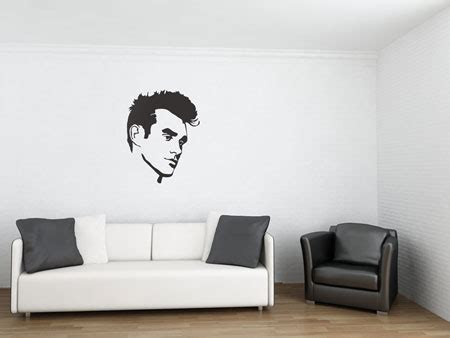 bouf wall stickers morrissey icon wall stickers at bouf retro to go