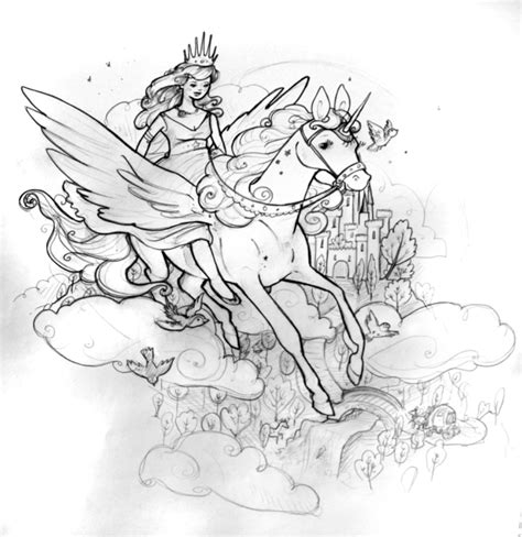 coloring pages unicorn princess princess unicorn coloring page